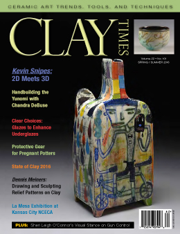 Spring_Summer 2016 Clay Times cover